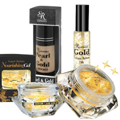 SR Cosmetics 24K Gold Treatment