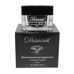 Black Diamond Dead Sea Anti Aging Day Cream oily