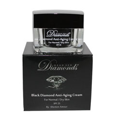 Black Diamond Dead Sea Anti Aging Day Cream dry