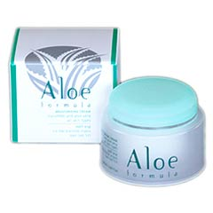 Aloe Formula Moisturizing Cream Cucumber and Aloe Vera