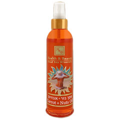 H&B Dead Sea Carrots & Nuts Suntan Oil