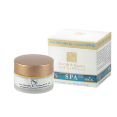 H&B Dead Sea Anti-wrinkle Eye Cream SPF-20